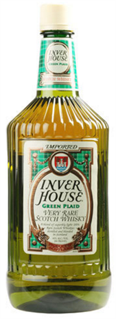 Inver House Scotch Green Plaid
